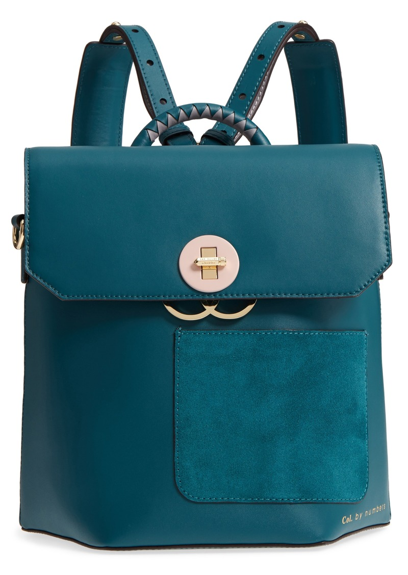Ted Baker Ted Baker London Colour by Numbers Leather Backpack ...