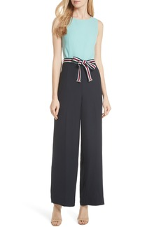 Ted Baker London Colour by Numbers Colorblock Jumpsuit