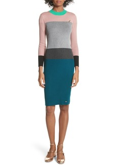 Ted Baker London Colorblock Sweater Dress