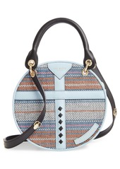 Ted Baker London Colour by Numbers Corral Straw Circle Bag