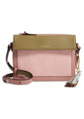 Ted Baker London Colour by Numbers Glacial Leather Crossbody Bag