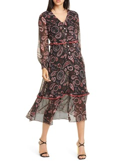 Ted Baker London Colour by Numbers Limeri Long Sleeve Dress