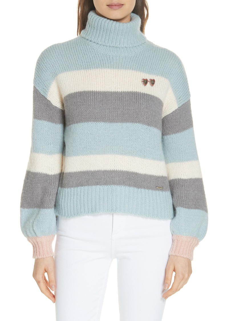 743b4d869e81 Ted Baker Ted Baker London Colour by Numbers Moliea Stripe Sweater ...