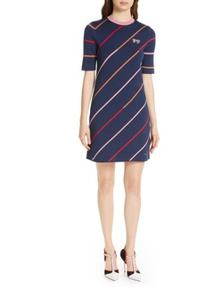 Ted Baker London Colour by Numbers Pelinor Stripe Dress