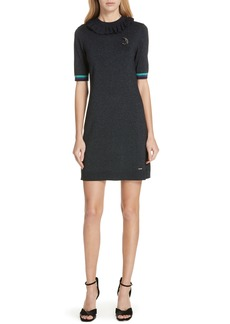 Ted Baker London Colour by Numbers Sabie Metallic Knit Dress