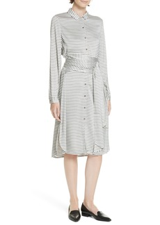 Ted Baker London Colour by Numbers Sandre Stripe Shirtdress