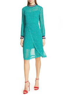 Ted Baker London Colour by Numbers Sibella Long Sleeve Dress