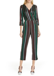 Ted Baker London Colour by Numbers Sileza Stripe Jumpsuit