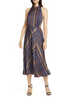 Ted Baker London Colour by Numbers Toronti Halter Neck Midi Dress