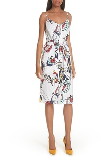 Ted Baker London Colour by Numbers Viddy Sheath Dress
