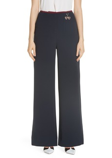 Ted Baker London Colour by Numbers Wide Leg Trousers