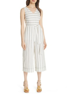 Ted Baker London Colour by Numbers Zelma Stripe Jumpsuit