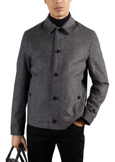 Ted Baker London Conch Wool Blend Jacket