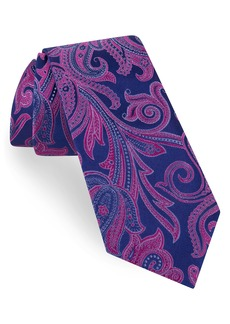 Ted Baker London Contrast Paisley Silk Tie