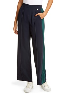 Ted Baker London Contrast Panel Wide Leg Pants