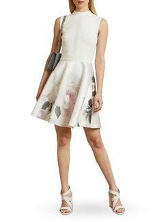 Ted Baker London Cordina Bouquet Satin Dress