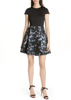 Ted Baker London Crall Narnia Skater Dress