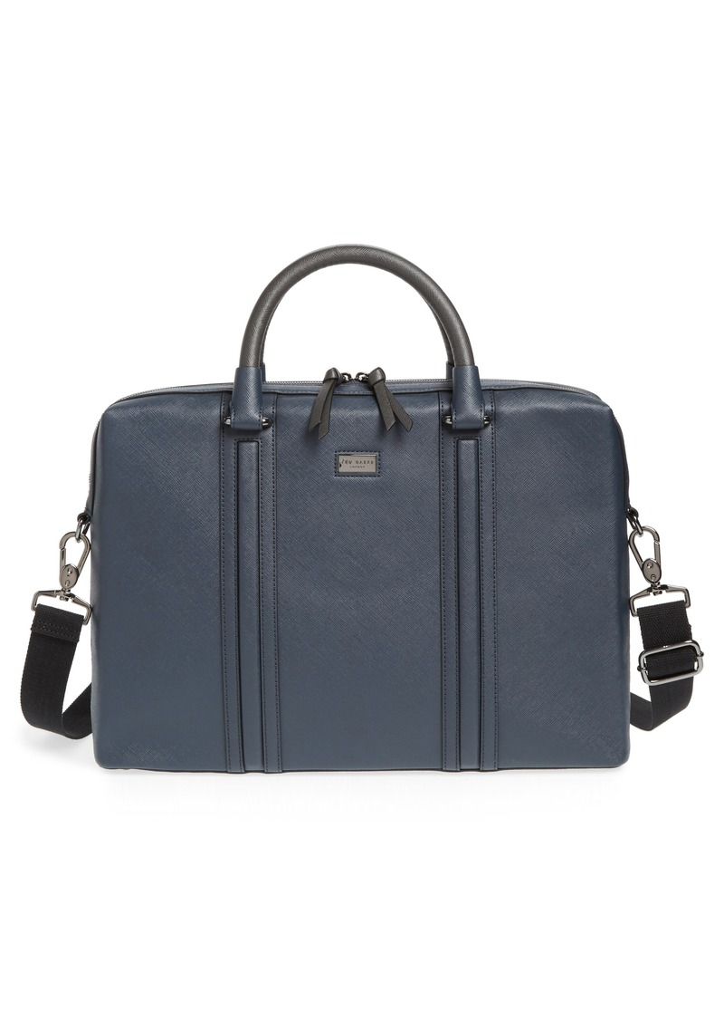 Ted Baker Ted Baker London Crossgrain Document Briefcase  7f5d705523a76