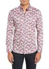 Ted Baker London Croyden Slim Fit Floral Sport Shirt