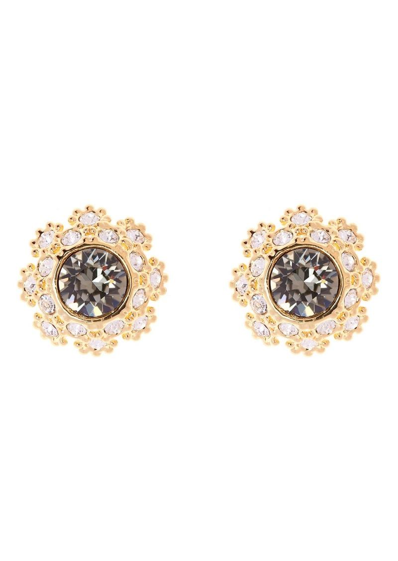 Ted Baker London Crystal Daisy Lace Stud Earrings