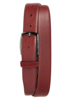 Ted Baker London Cubes Leather Belt