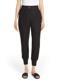 Ted Baker London Cylar Lace Detail Formal Jogger Pants