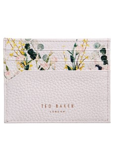 Ted Baker London Cyrilla Leather Card Holder