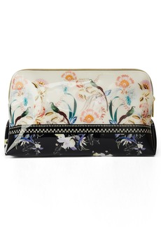 Ted Baker London Dacadence Print Travel Pouch