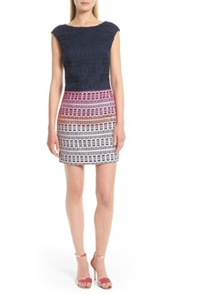 Ted Baker London Dahil Marina Mosaic Lace Dress