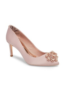 Ted Baker London Dahrlin Embellished Pump (Women)