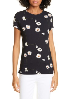 Ted Baker London Daisy Print Fitted Tee