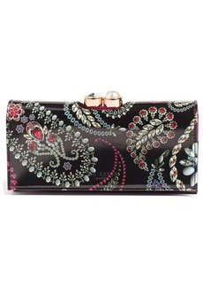 Ted Baker London Dalthee Trinket Leather Matinee Wallet