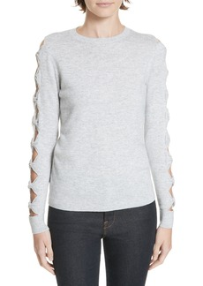 Ted Baker London Danikaa Cutout Sleeve Sweater