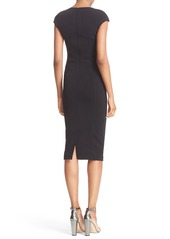 Ted Baker London 'Dardee' Embellished Body-Con Midi Dress