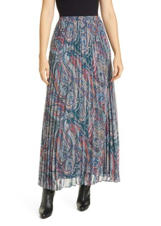 Ted Baker London Dawwn Lantern Pleated Maxi Skirt