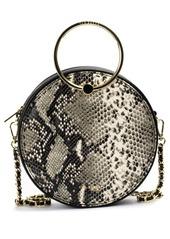 Ted Baker London Debbs Python Embossed Leather Crossbody Bag