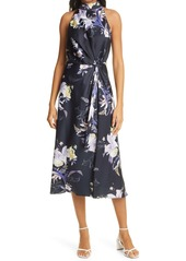 Ted Baker London Decadence Halter Midi Dress