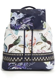 Ted Baker London Decadence Print Packable Backpack