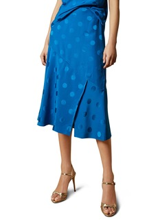 Ted Baker London Della Dot Jacquard Skirt