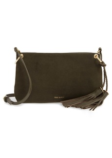 Ted Baker London Demetra Tassel Leather Crossbody Bag