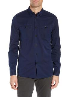 Ted Baker London Denray Slim Fit Denim Shirt