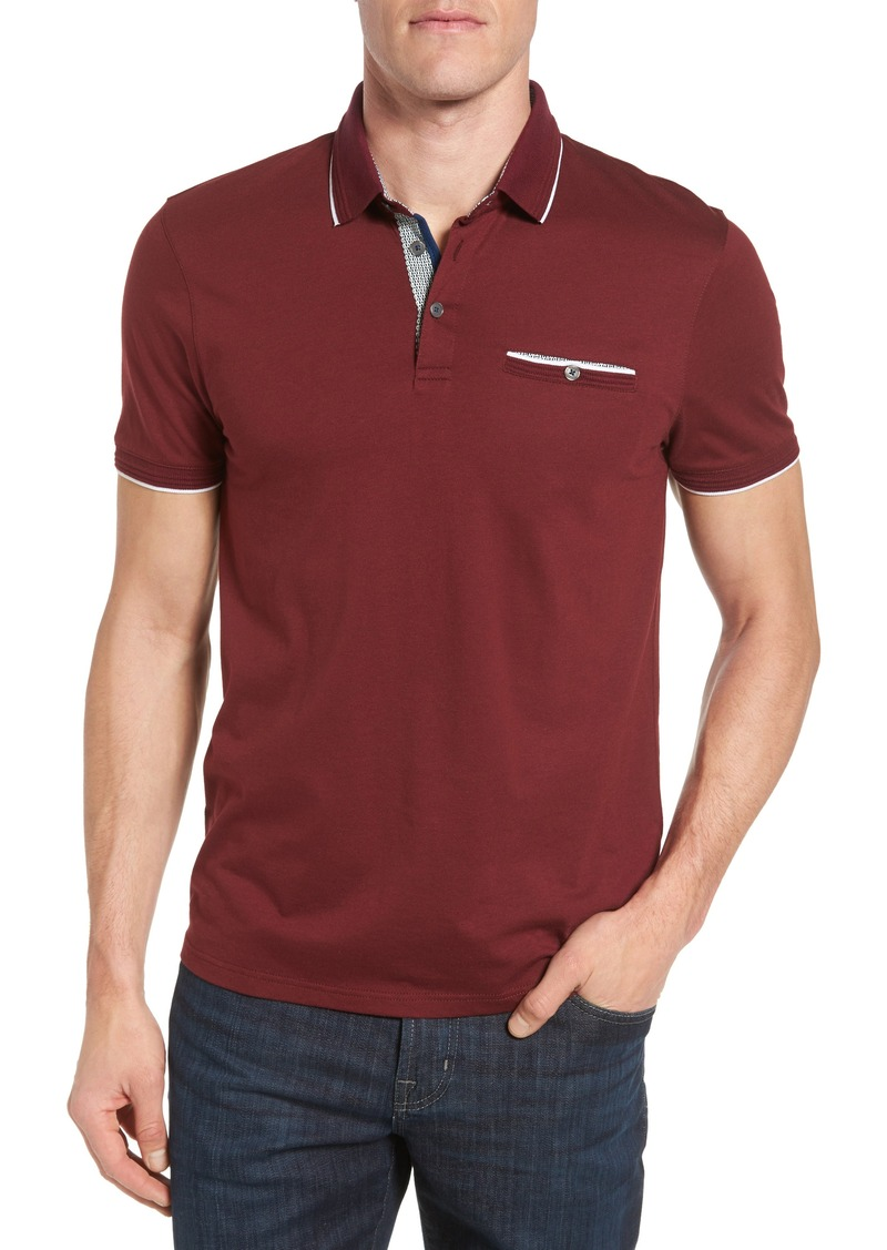 4155ba020 Ted Baker Ted Baker London Derry Modern Slim Fit Polo