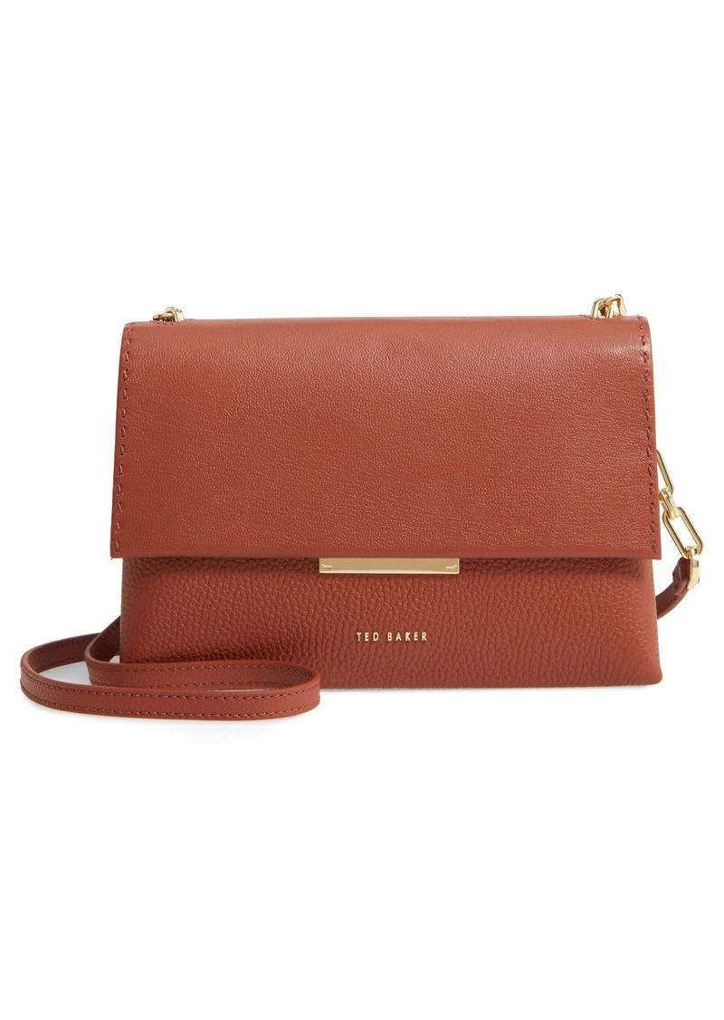 Ted Baker London Diilila Leather Crossbody Bag