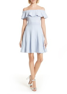 Ted Baker London Dilpree Off the Shoulder Skater Dress