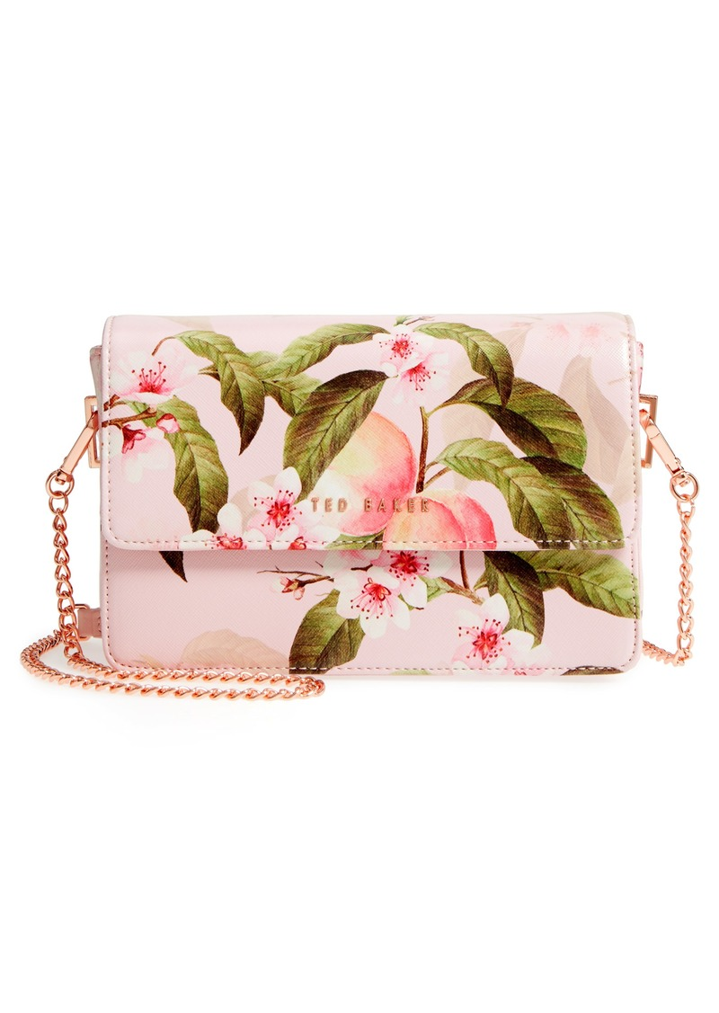 6b2aa81f82b3 Ted Baker Ted Baker London Disha Peach Blossom Faux Leather ...
