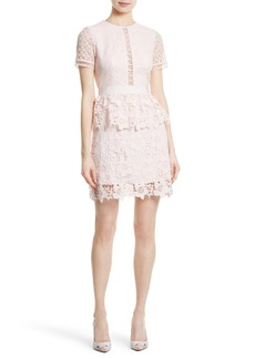 Ted Baker London Dixa Layered Lace Skater Dress