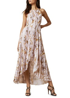 Ted Baker London Dixie Cabana Pleated Maxi Dress