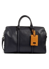 Ted Baker London 'Dogtag' Leather Duffel Bag