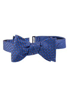 Ted Baker London Dogtooth Check Silk Bow Tie