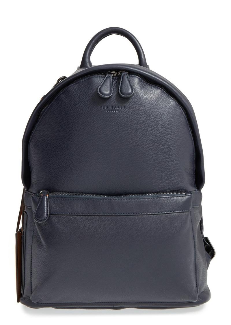 Ted Baker London 'Dollar' Leather Backpack